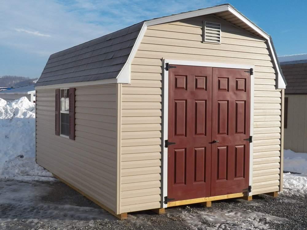 Inventory 10x16 Vinyl High Barn Sold Lakeview Sheds