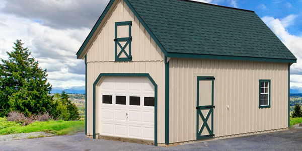 Garage Builders Garages In Pa Lakeview Sheds