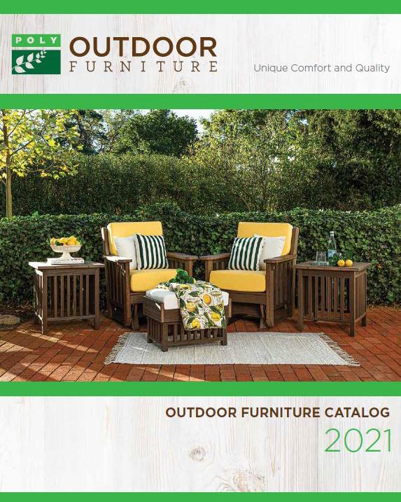 Patio Furniture Catalog: Poly Furniture PA
