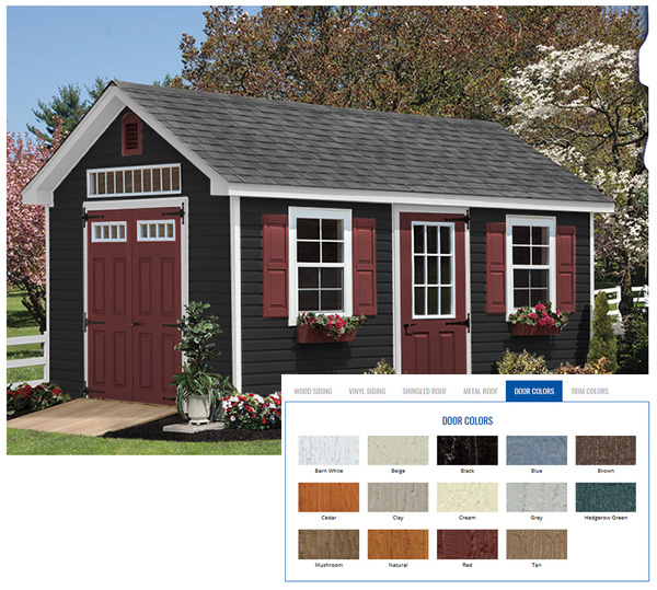 Shed Colours Schemes House Beautiful
